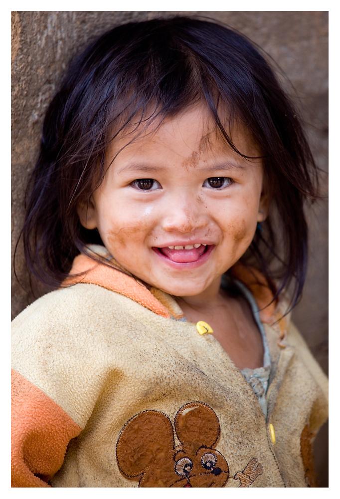 Lächeln – die zarteste Versuchung, seit es Gesichter gibt.  © Ulla Keleschovsky