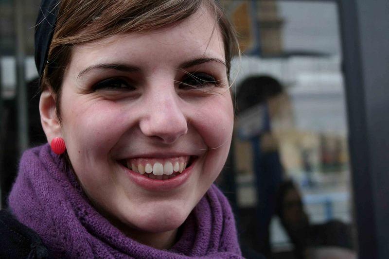Lächeln in München