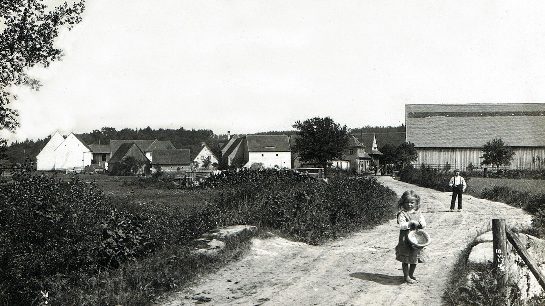Ländliche Idylle von 1917