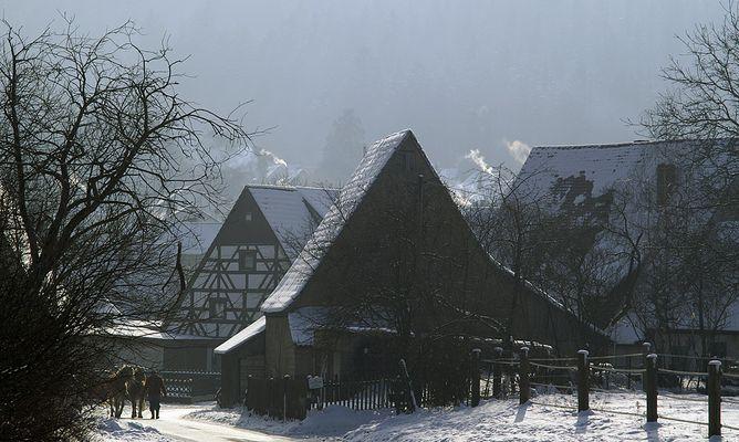 Ländliche Winteridylle 1