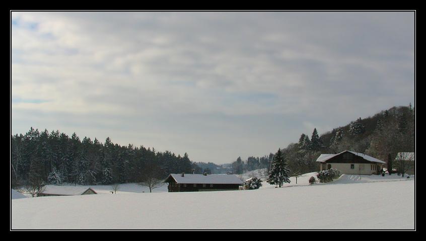 laendliche Winteridylle....