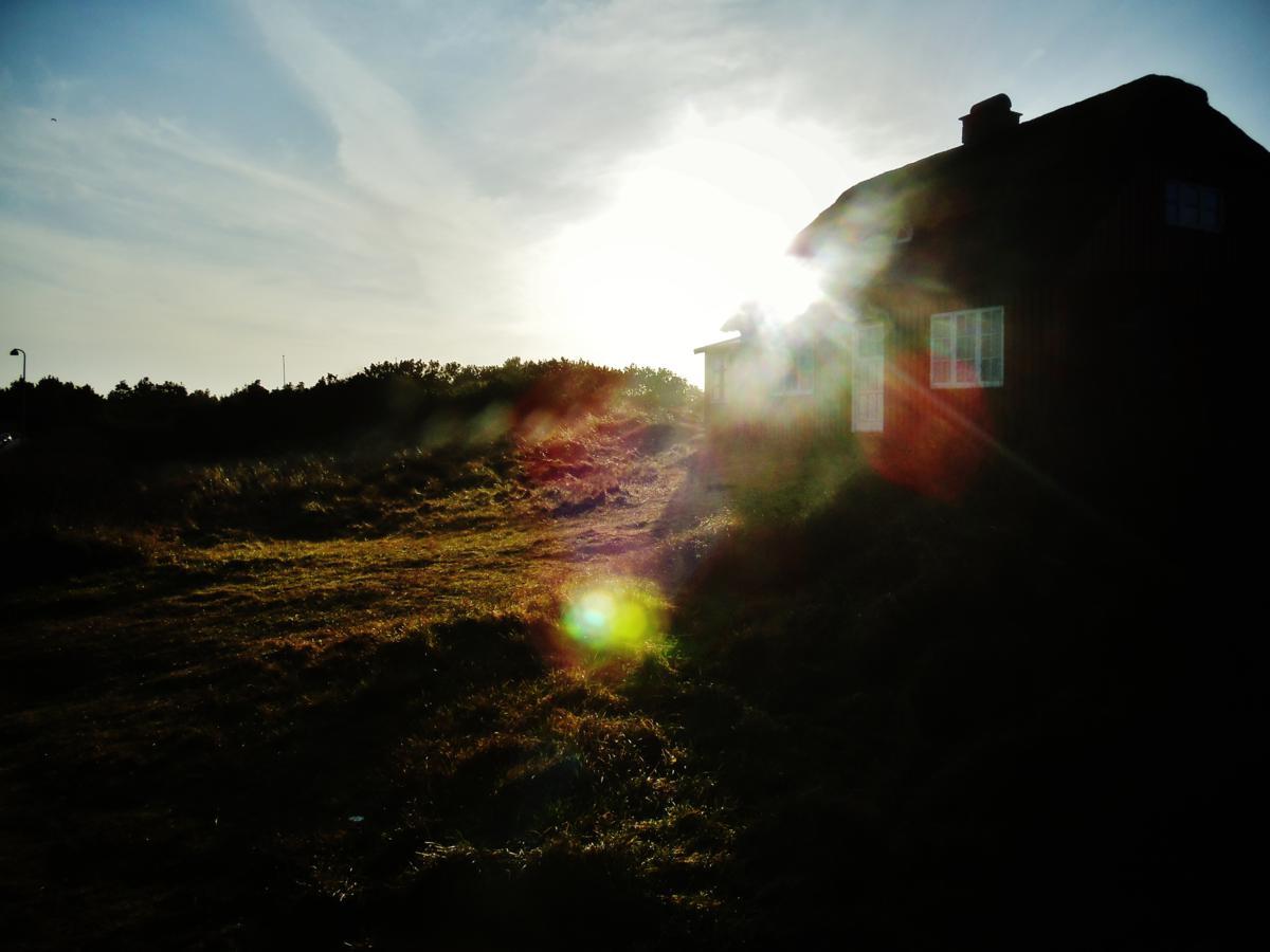 ländliches Haus in der Düne