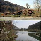 Längste Holzbrücke Europas