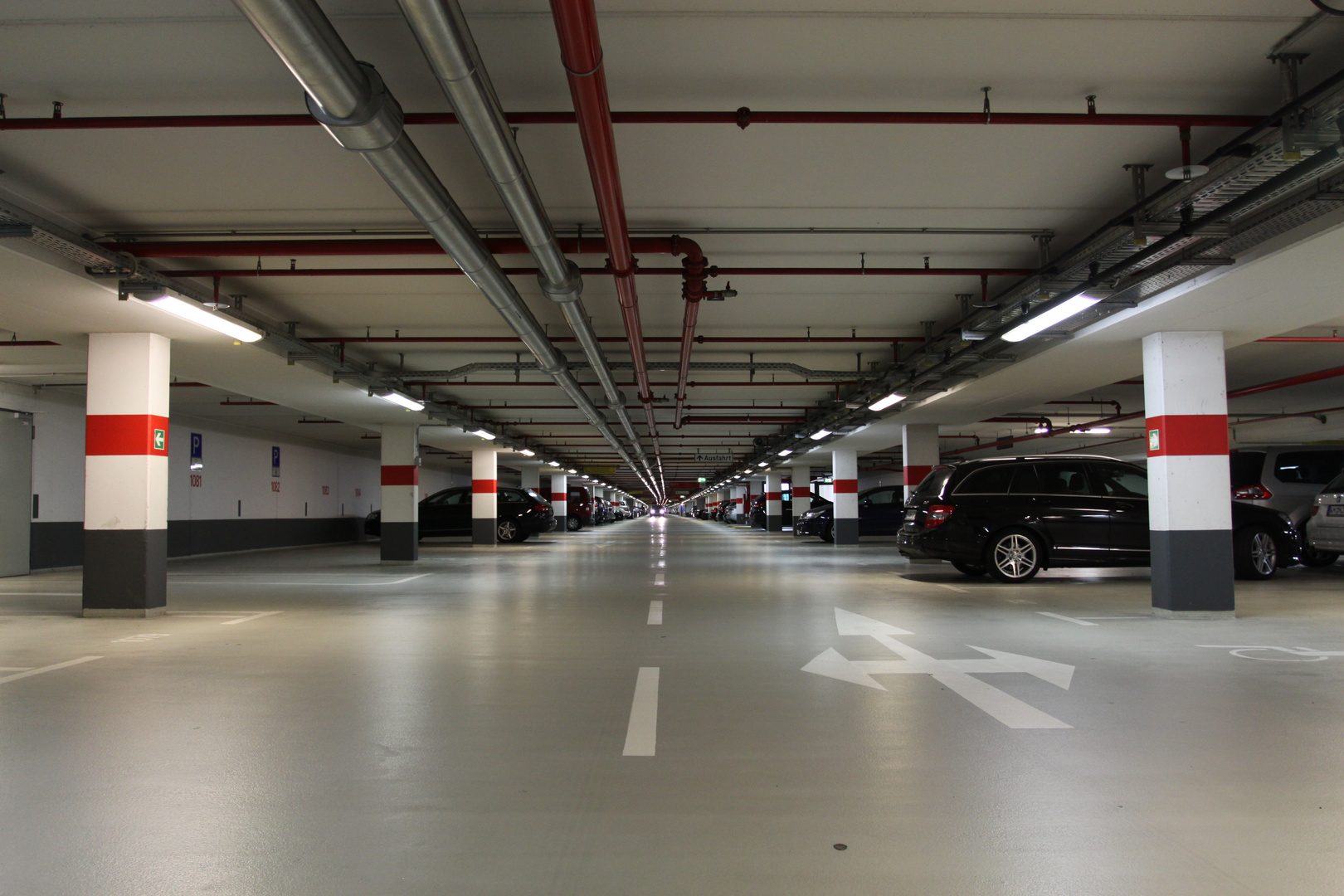 Längste Tiefgarage Europas in Köln