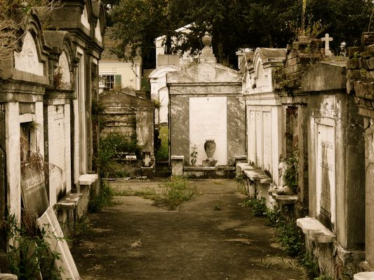 Lafayette Cemetery No. 1/New Orleans