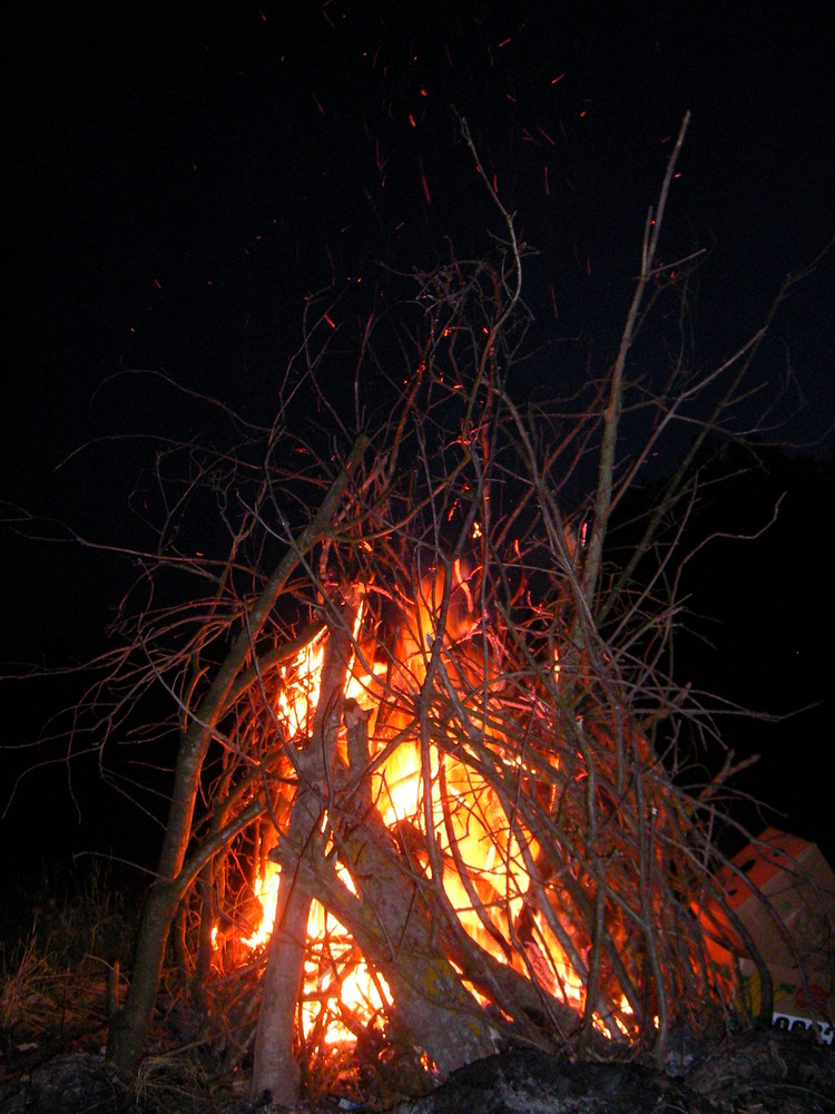 lager-feuer