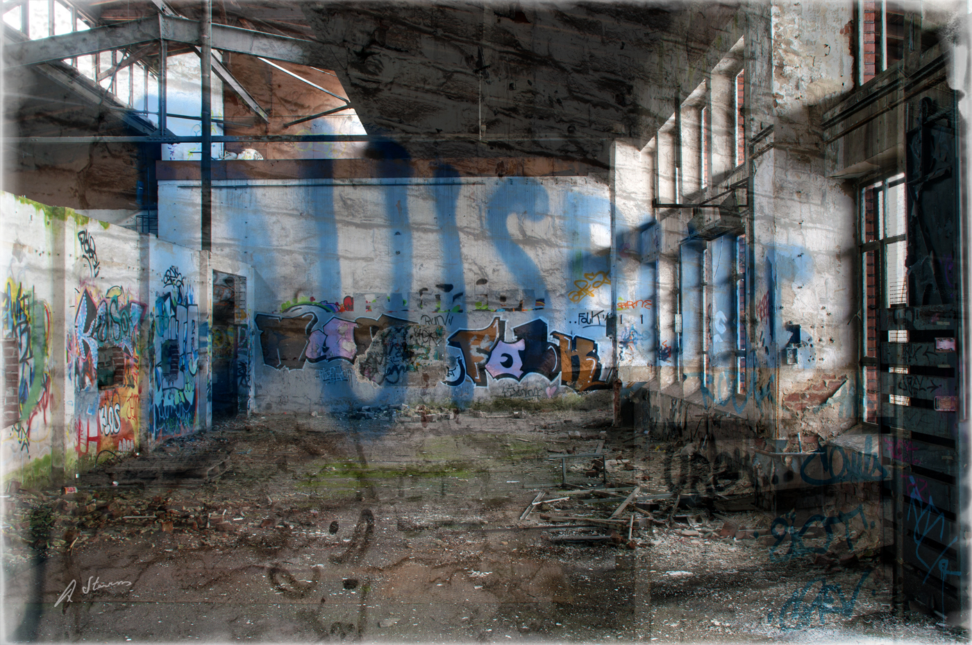 Lagerhalle alter Güterbahnhof Duisburg