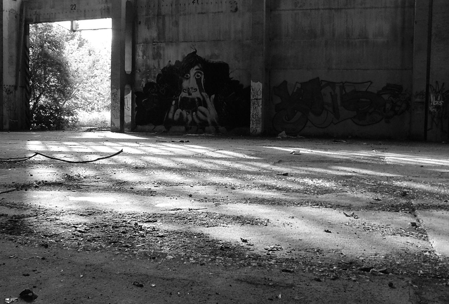 Lagerhalle // Erfurt // Licht-Schatten-Experiment