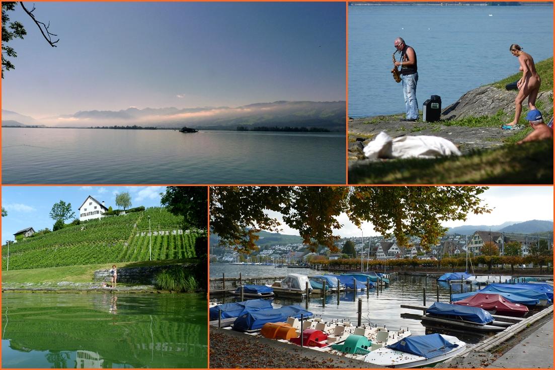 Lago de / Lac de / See von Zürich..01