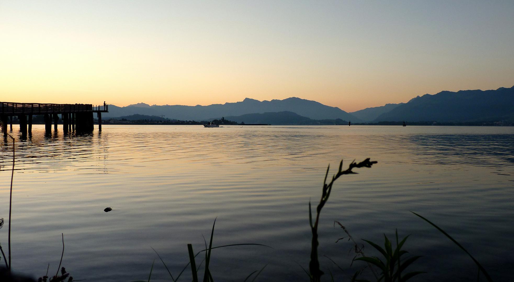 Lago de / Lac de / Zürichsee...01