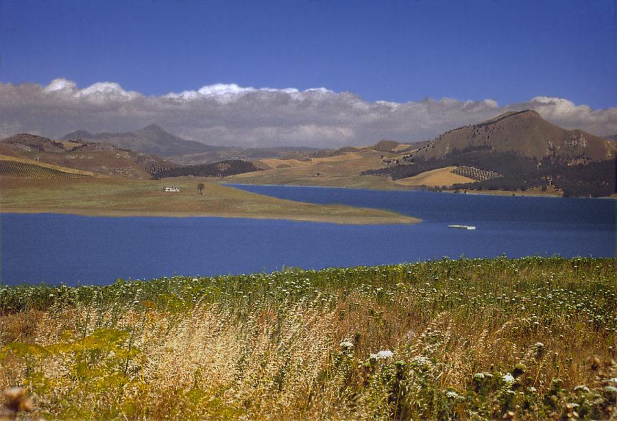 Lago di Garcia - Stausee bei Roccamena