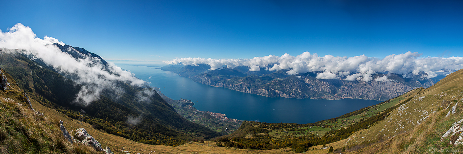 Lago di Garda from the top