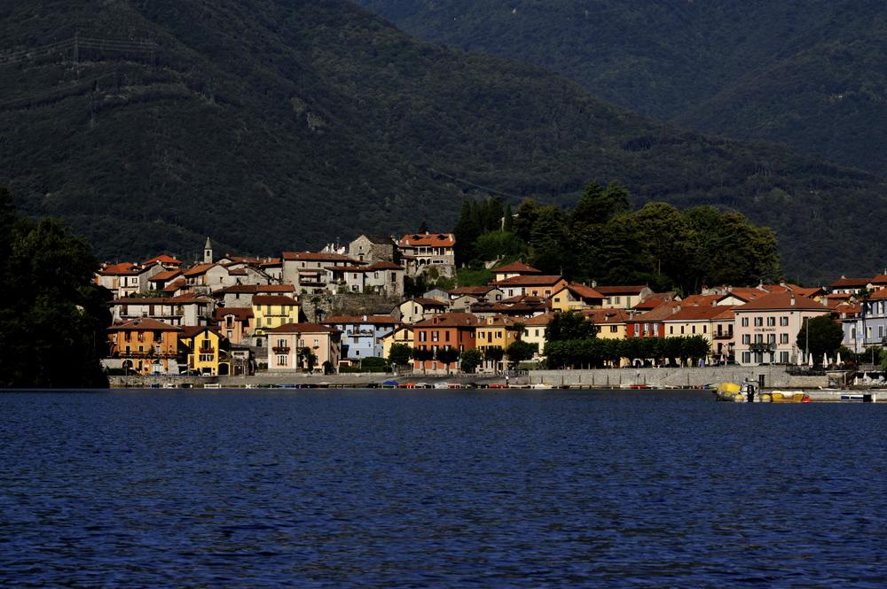 Lago di Mergozzo, Piemonte, Italia