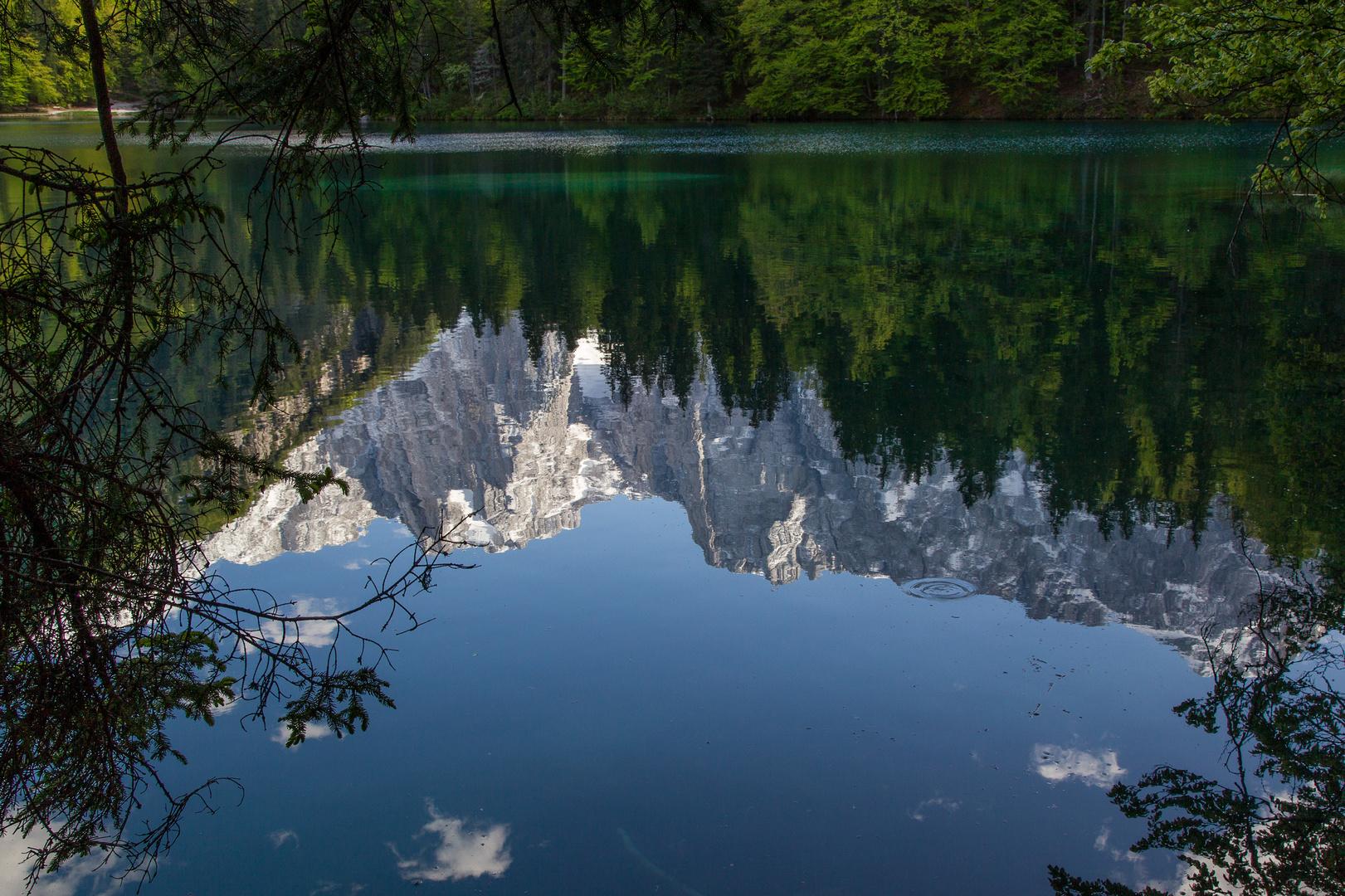 Lago di montagna Bergsee