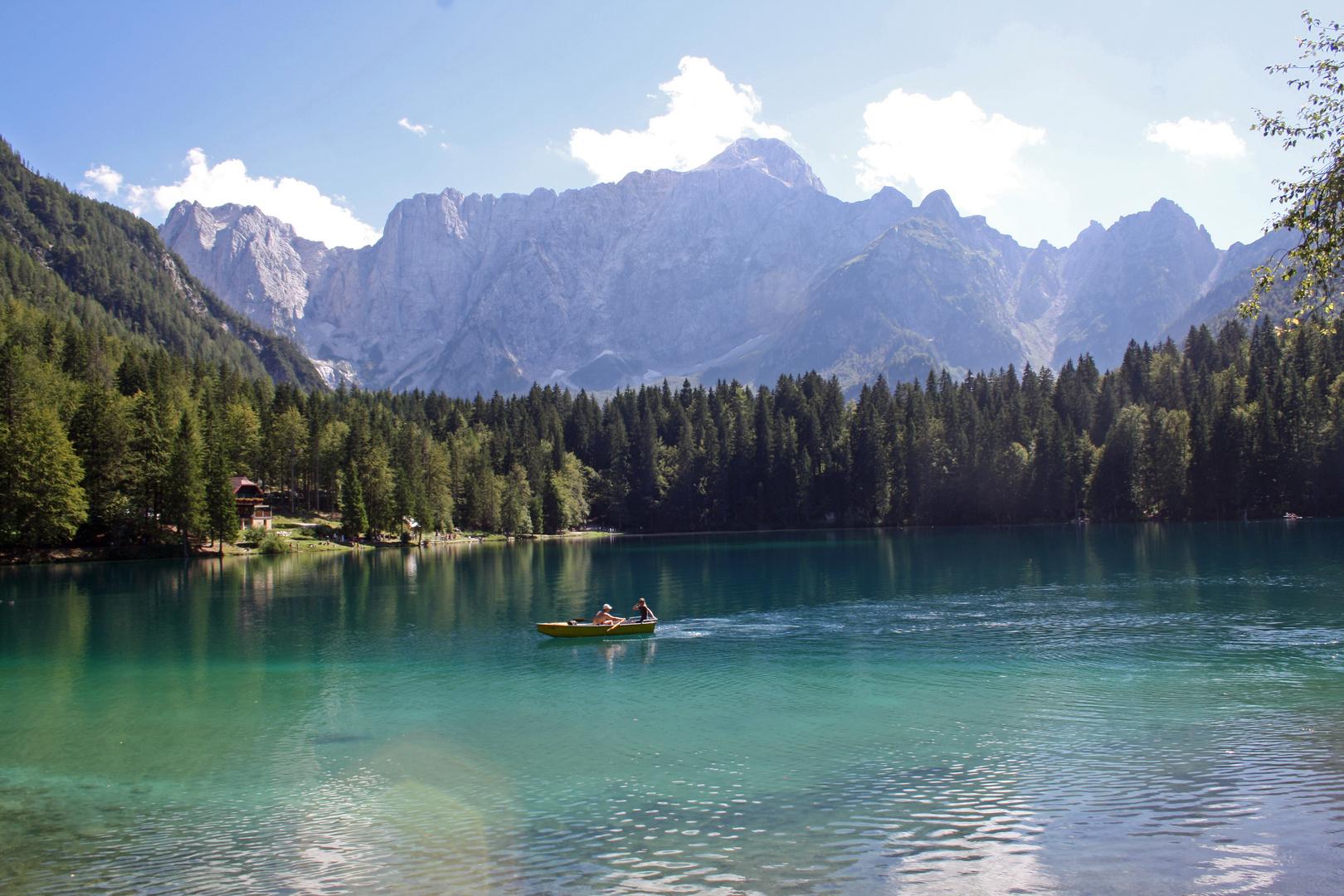 Lago die Fusine