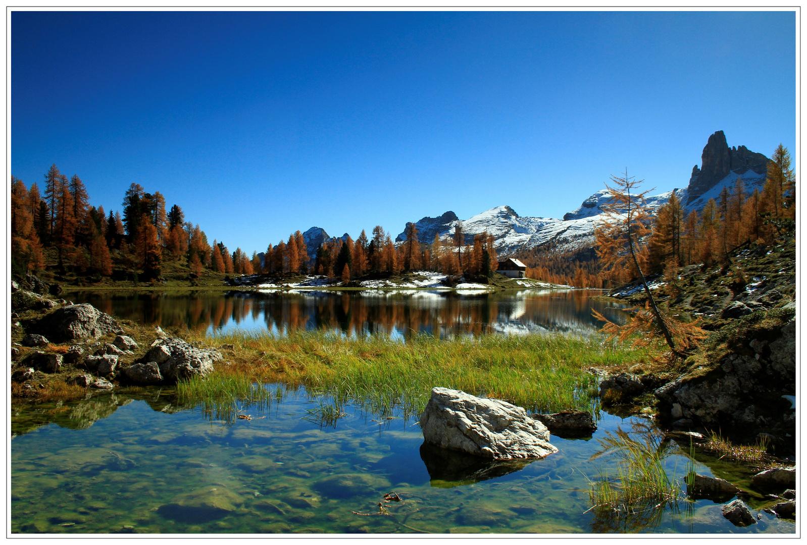 Lago Federa (Dolomiten)