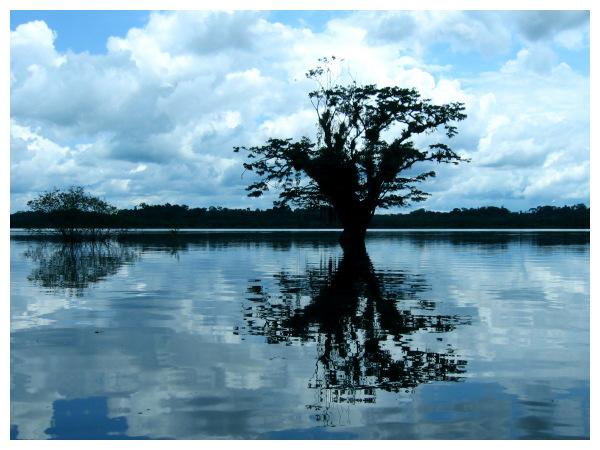 Lago Grande - Abendstimmung