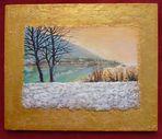 lago in pittura