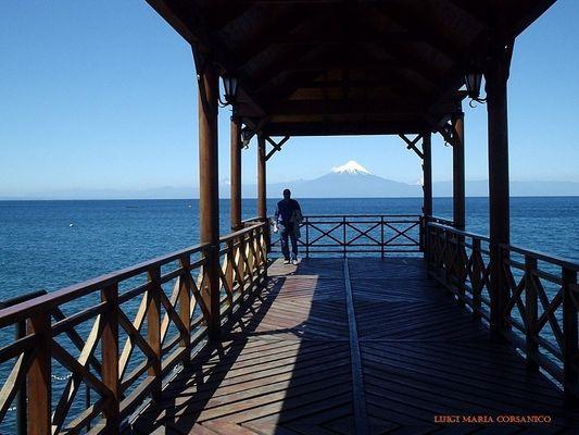 Lago Llanquigue, Frutillar y volcàn Osorno - Patagonia Norte de Chile