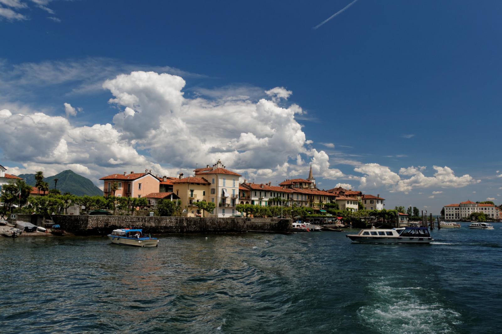 Lago Maggiore Fotografierwolken I