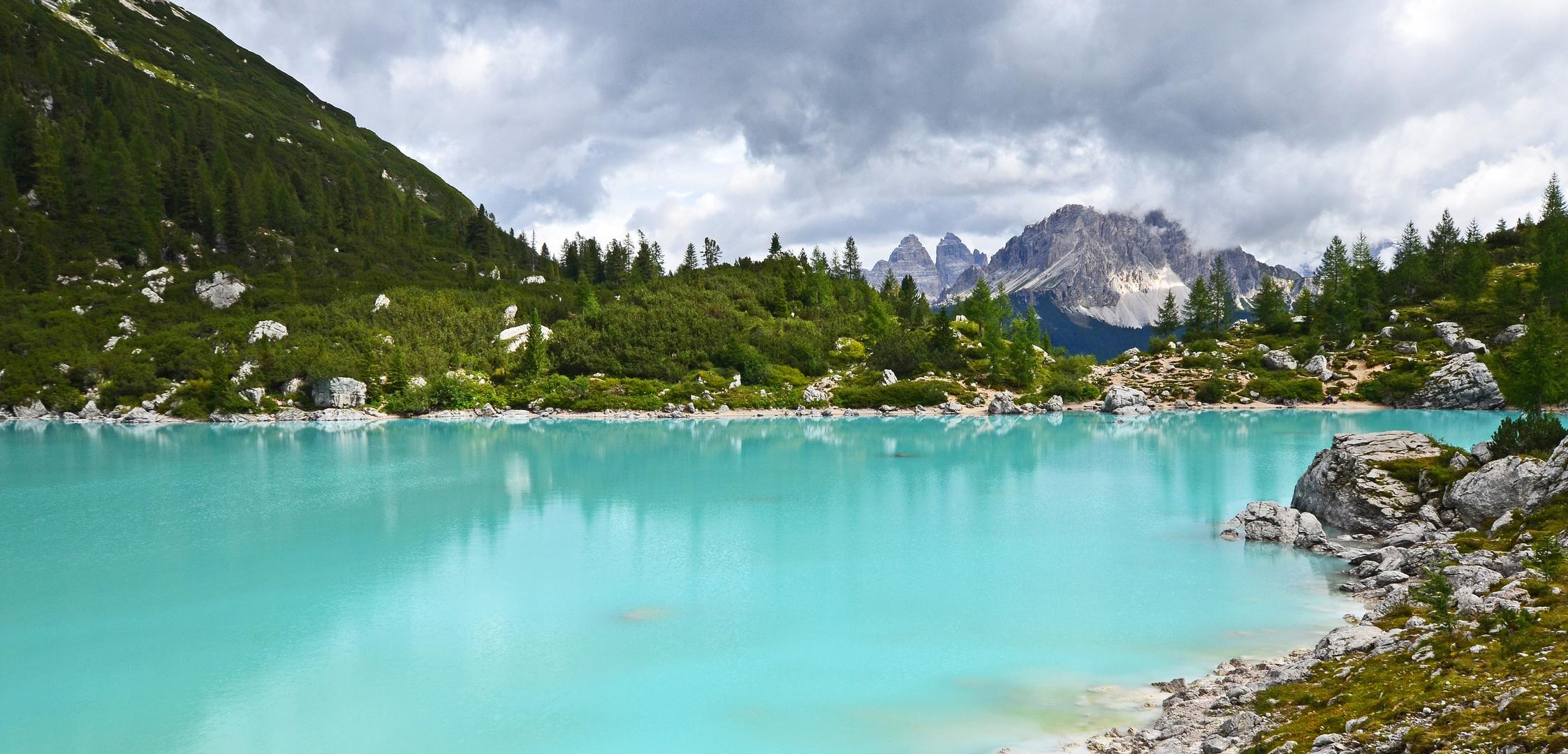 Lago Sorapis mal anders