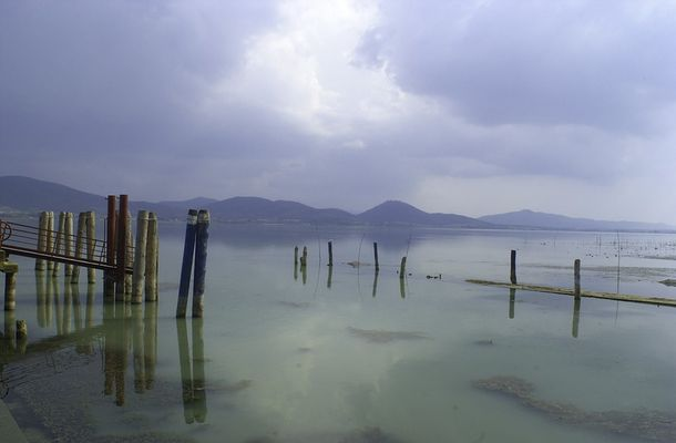 Lago Trasimeno ohne Rahmen
