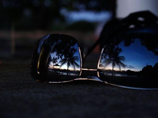 Lagoa do Banana durch die Brille