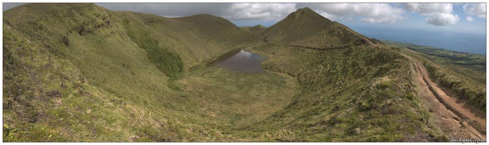 Lagoa do Eguas (Sao Miguel, Azoren)