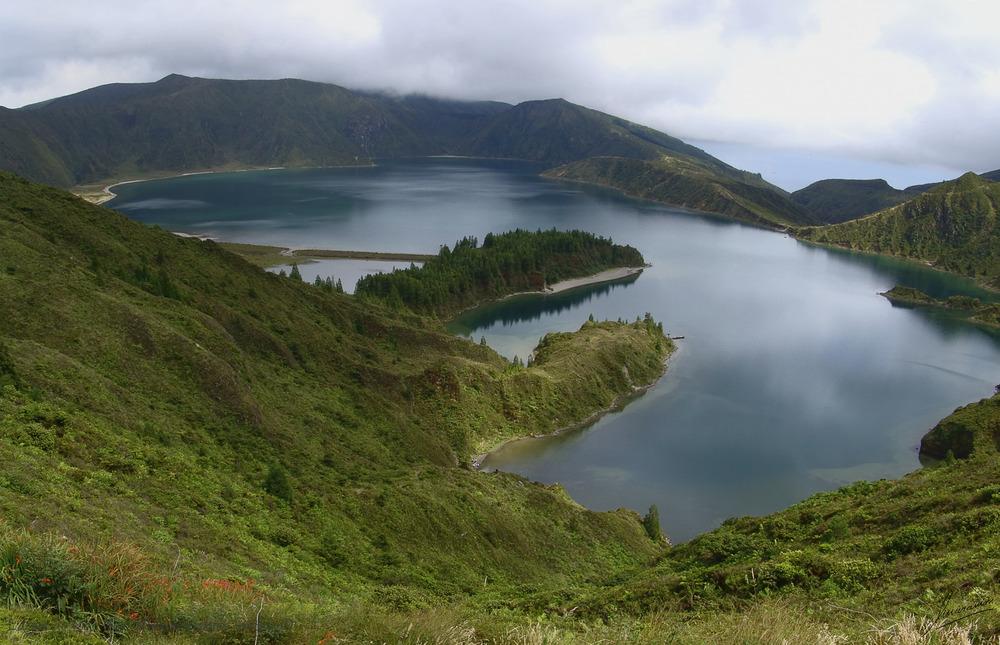 Lagoa do Fogo (Sao Miguel Azores Portugal)