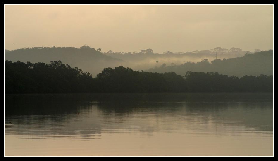 ... Lagoon of Princess Town, Ghana ...