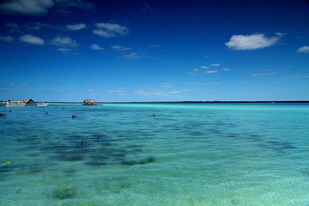 Laguna Bacalar - Mexiko. Der Zauber des sees