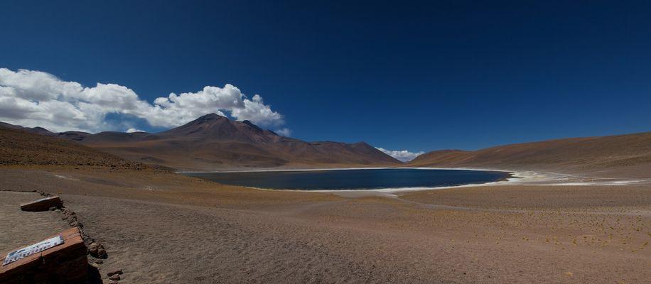 Laguna Miniques, Chile, Atacama Wüste