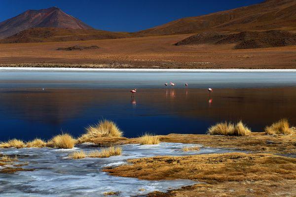 Lagune auf 4500m NN