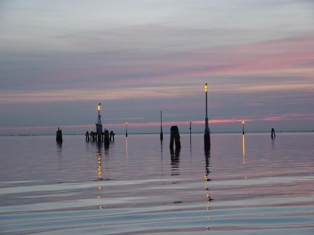 Lagune bei Venedig