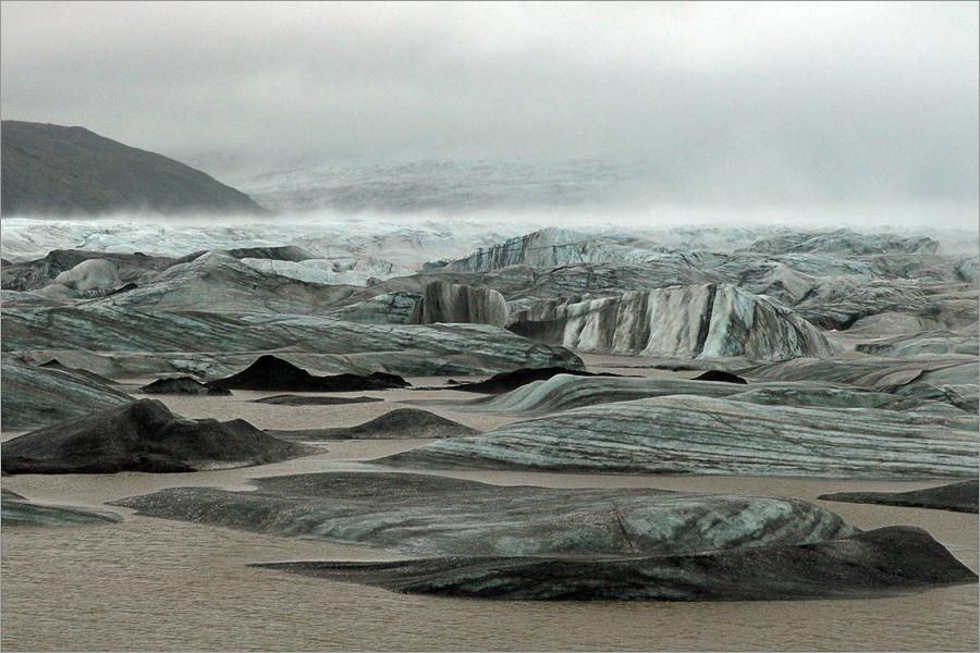 Lagune des Hoffellsjökull