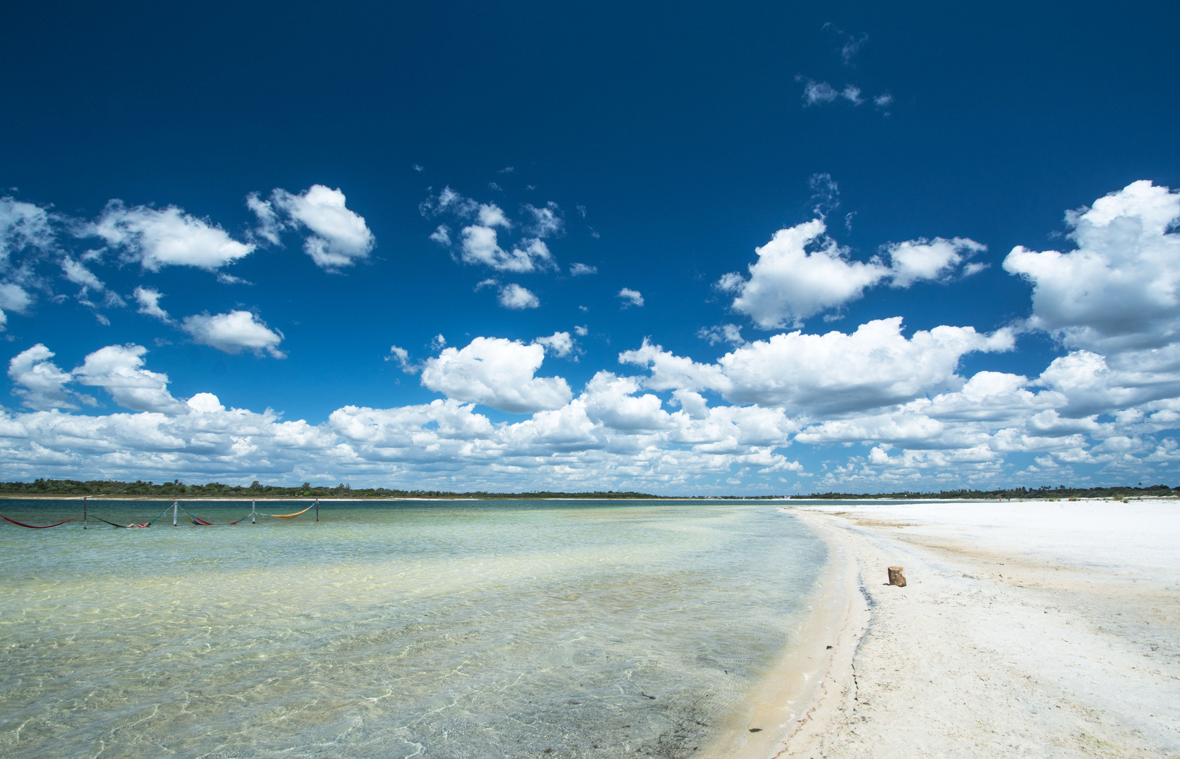 Lagune Jericoacoara Brasilien
