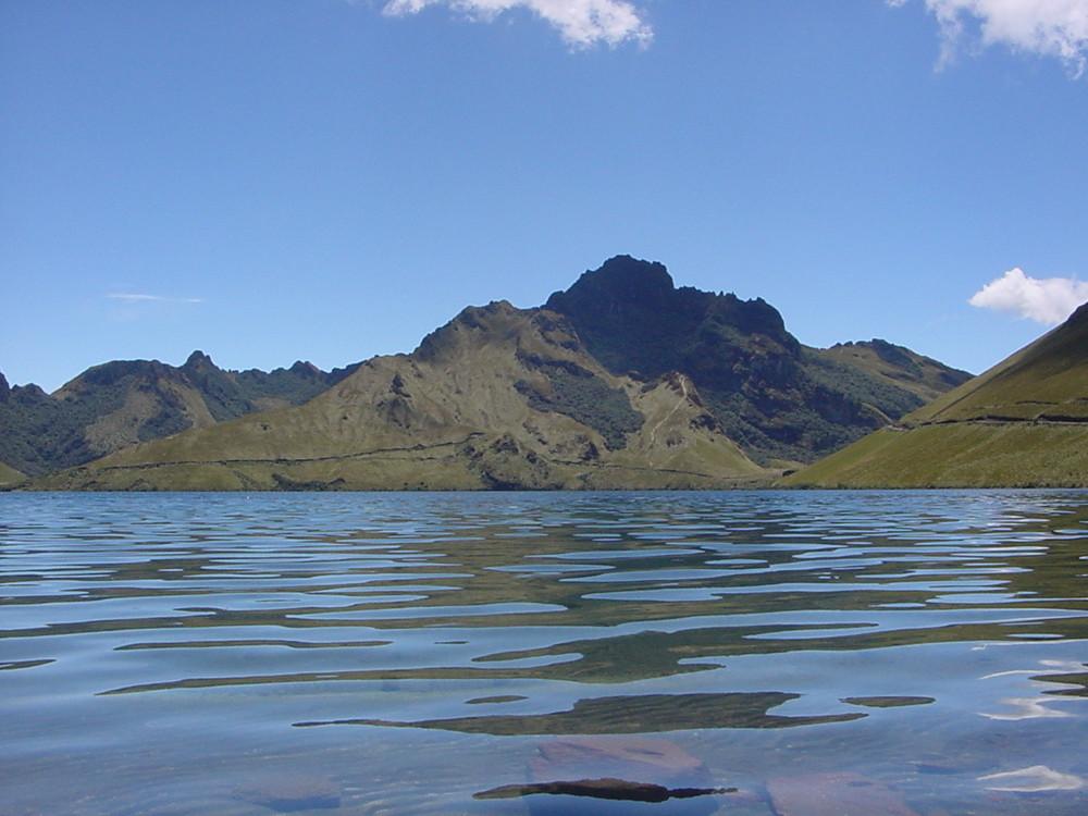 lagune mojanda & cerro negro (4200 m)
