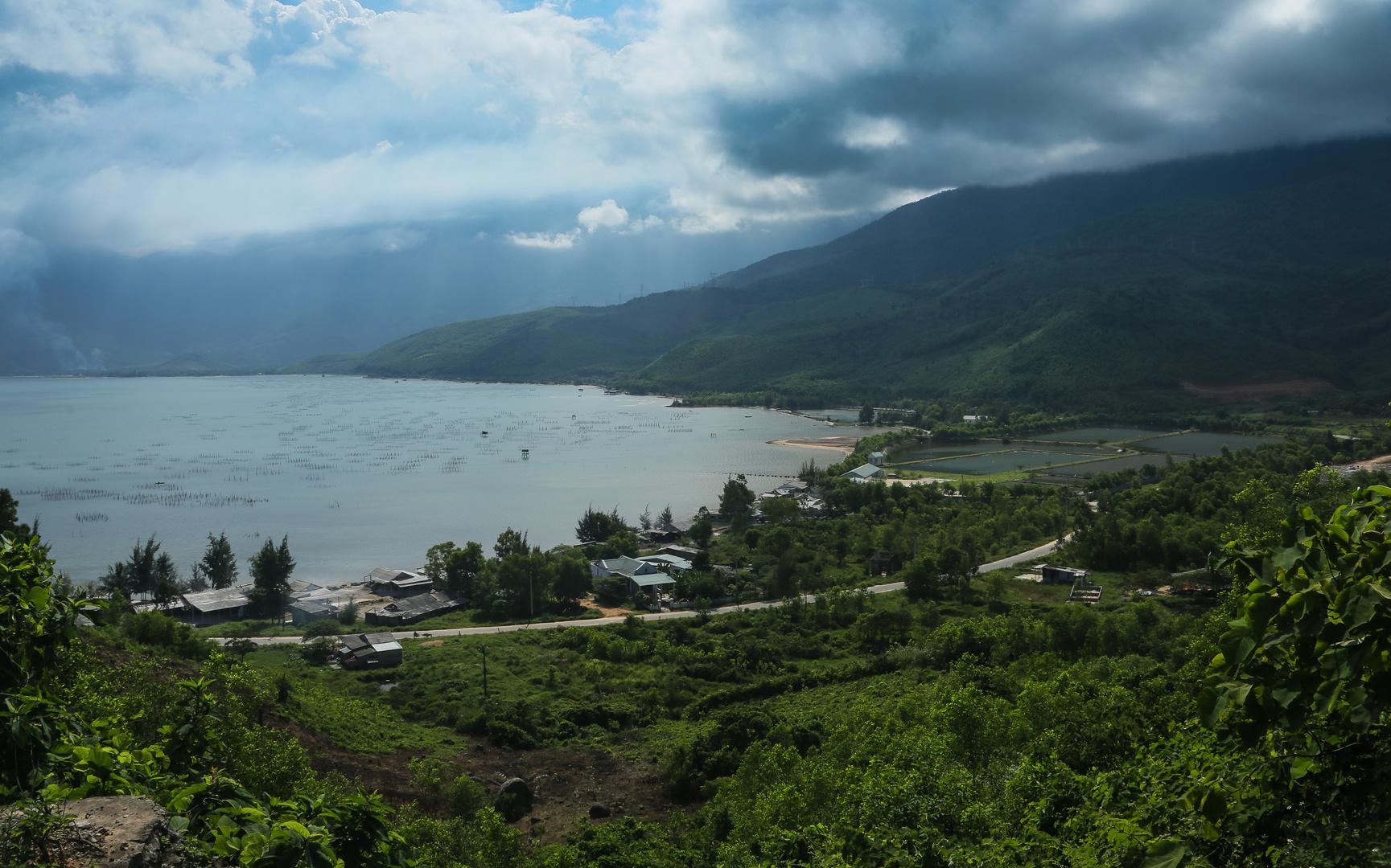 Lagune von Lang Co von oben
