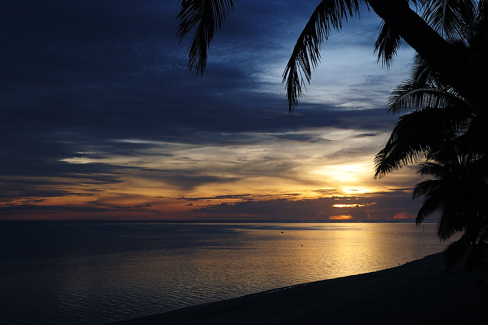 Lagune von Titikaveka, Rarotonga, Cook Islands