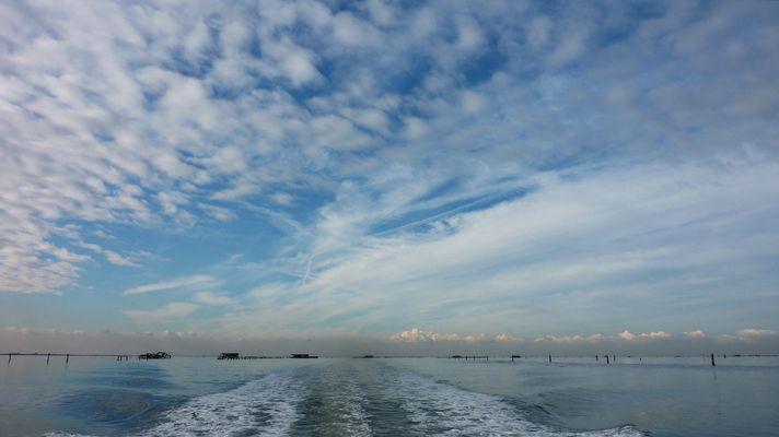 Lagune vor Chioggia