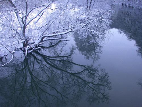 Lahn im Winter