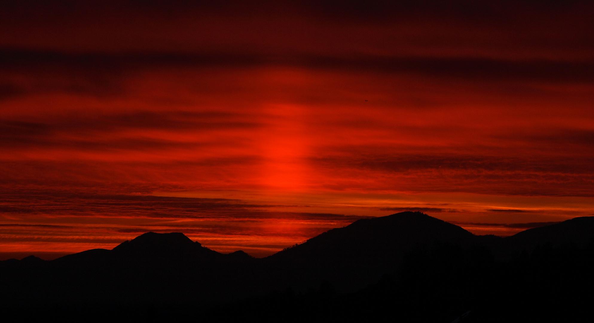 Lahr - Sonneuntergang