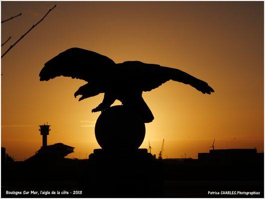 L'aigle de la côte Boulogne Sur Mer