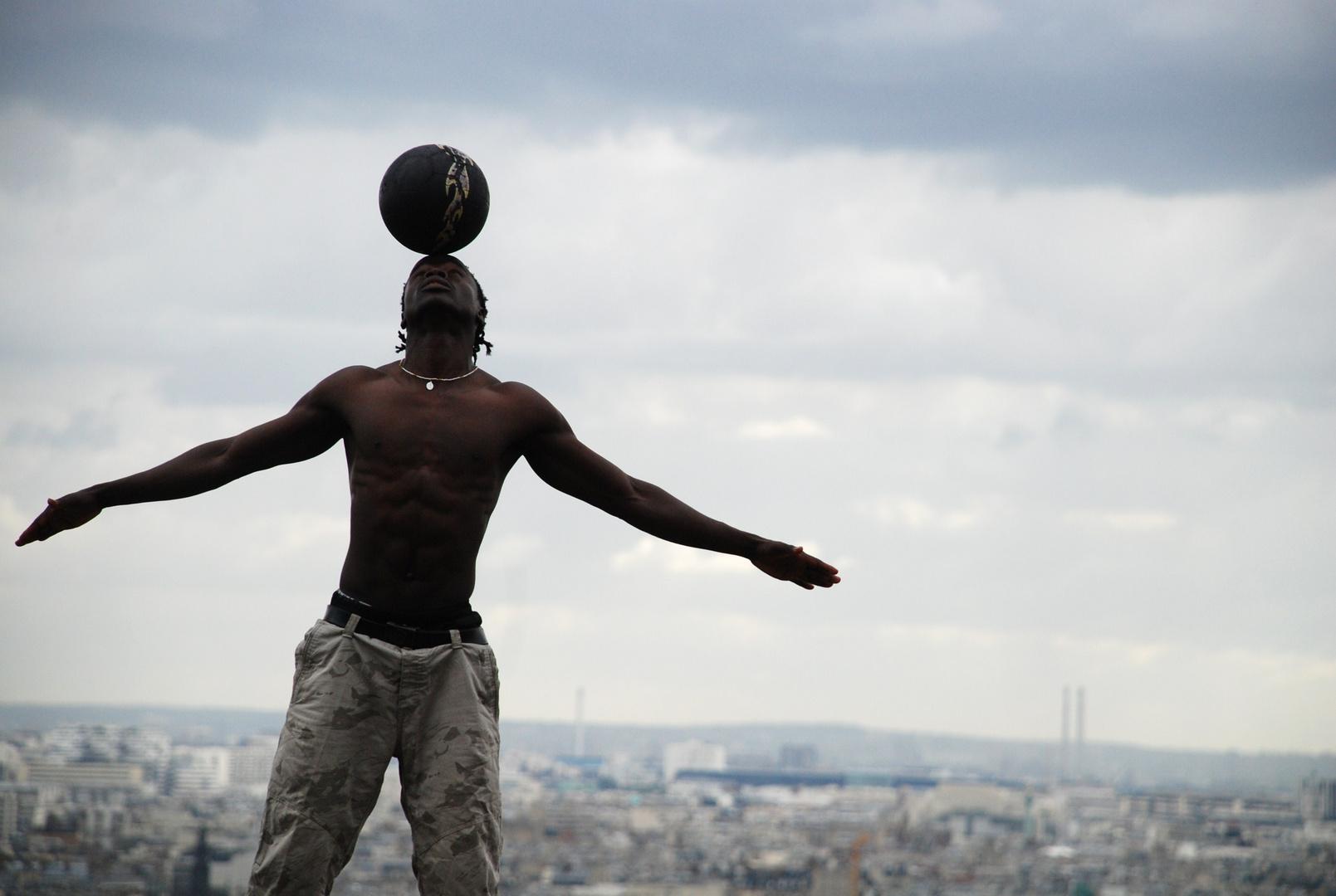 L'aigle de Montmartre.