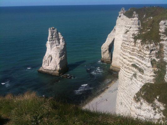 L'aiguille d'Etretat - Le trésor dArsène Lupin