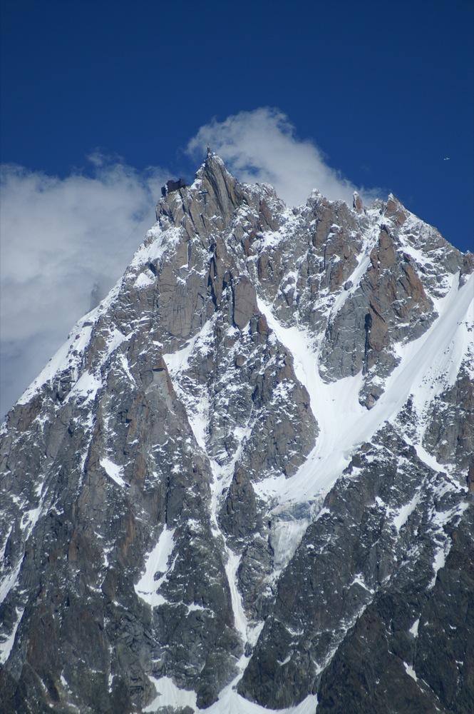l'Aiguille du Midi, Massif du Mont Blanc