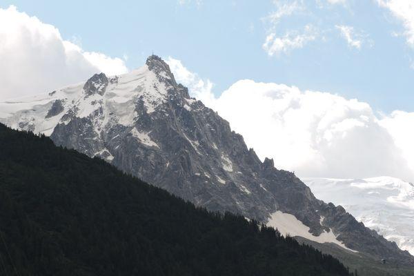 L'Aiguille( verte ) du Midi à Chamonix