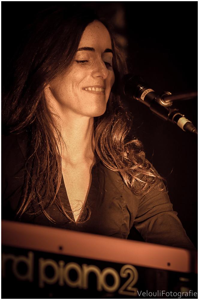 Lajescha O'Dubler am Piano