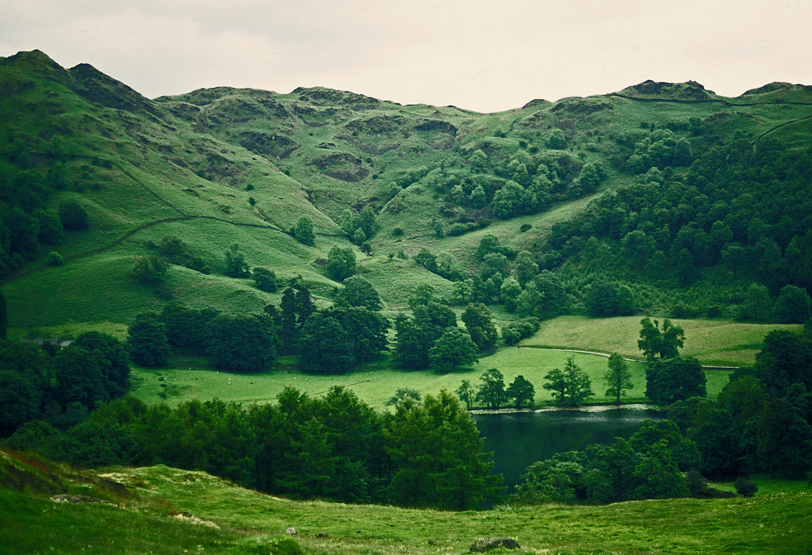Lake District in Nord-England