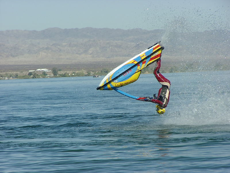 Lake Havasu City Word Finals Freestyle Training Barrell Roll Seitenansicht